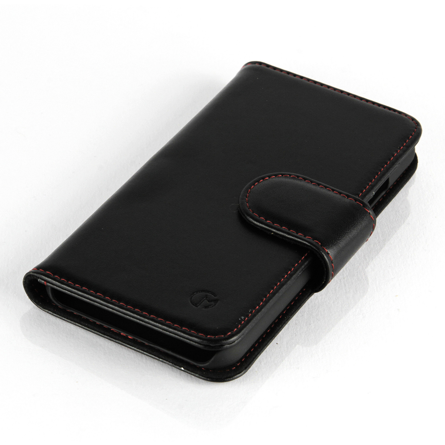 iphone 5c wallet case apple iphone 5c slimline leather wallet black 14714