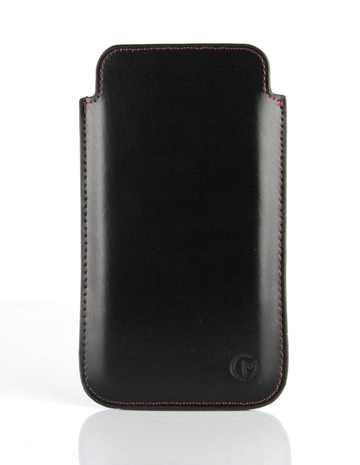 Apple iPhone 6S Leather Pouch | Black