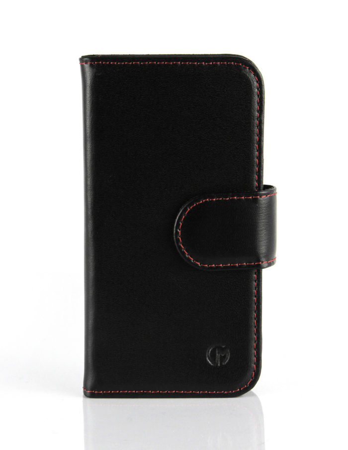 Apple iPhone 5C Slimline Leather Wallet Case | Black
